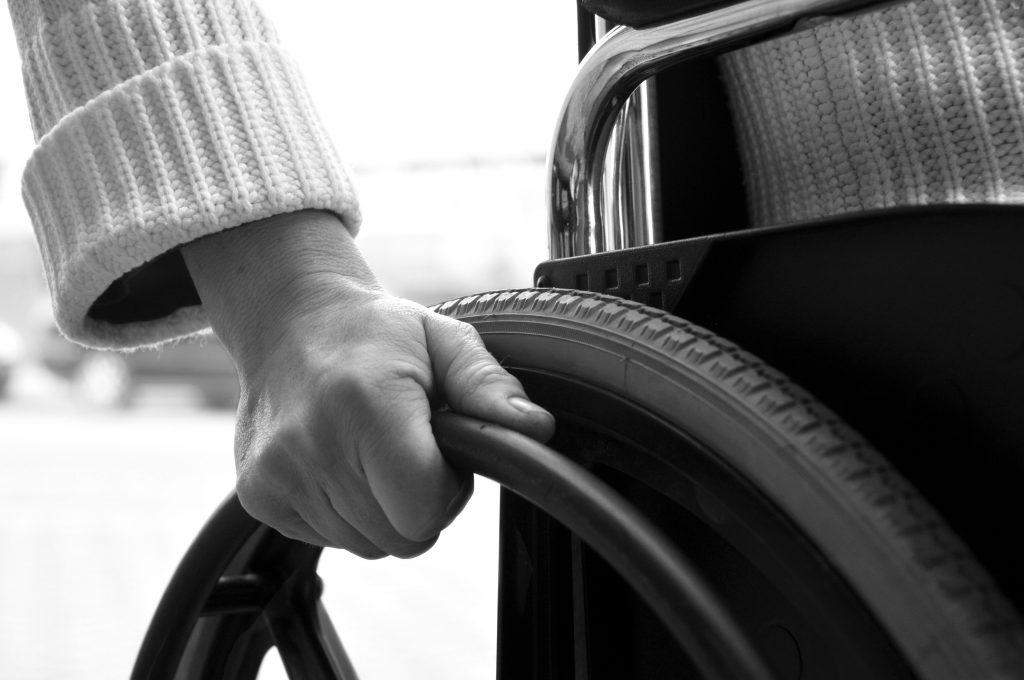 Odškodnina za paraplegijo
