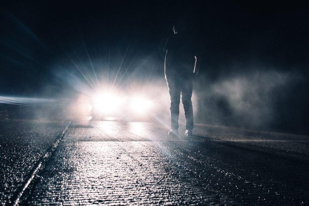 neznani povzročitelj prometne nesreče